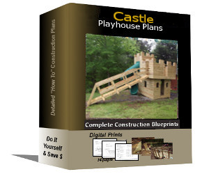 Castle Playhouse Plans